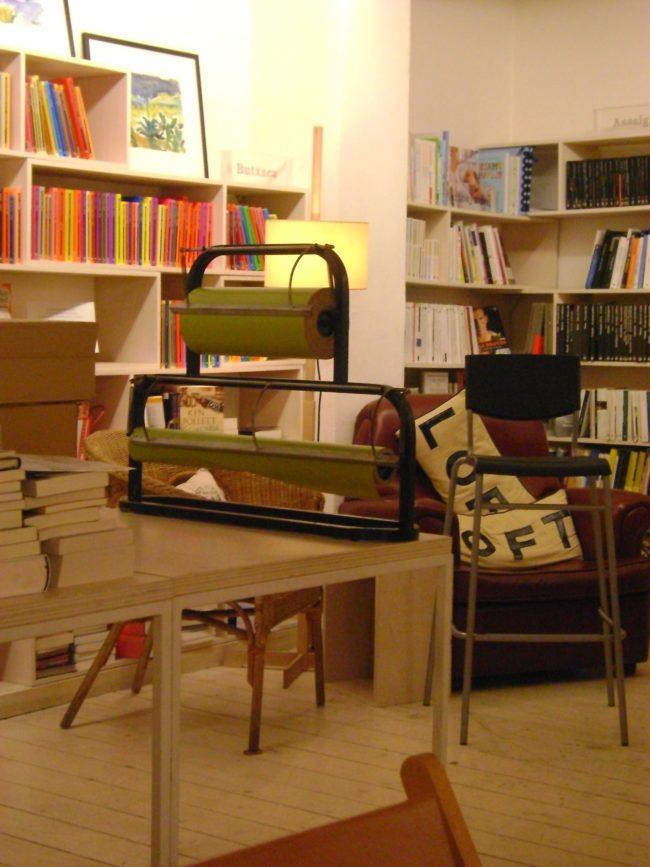 Restaurante BERNAT. Librería, restaurante y bar