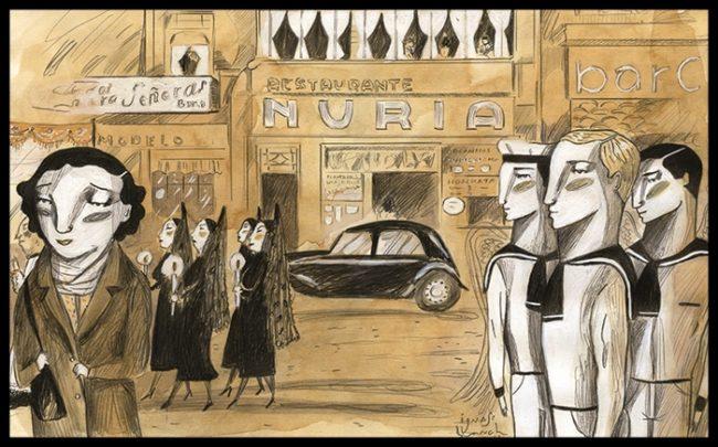 Los años 40, la posguerra. Por Ignassi Blanch.