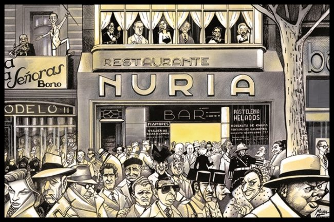 Los años 50, la calle de la fama. Por Miquel Ferreres.