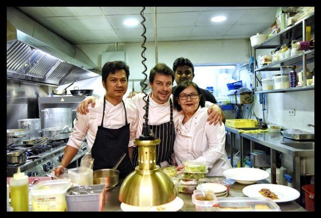 Sergi de Meià, Adelina Castells y su equipo