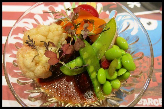 Verduras al dente, como las come Bobo Pulpín