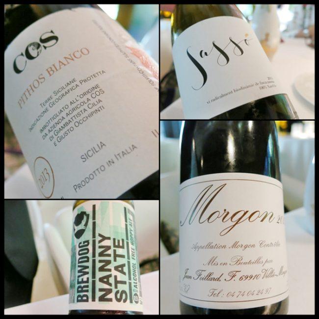 Los vinos, elegidos por Fernando Pavón, sumiller
