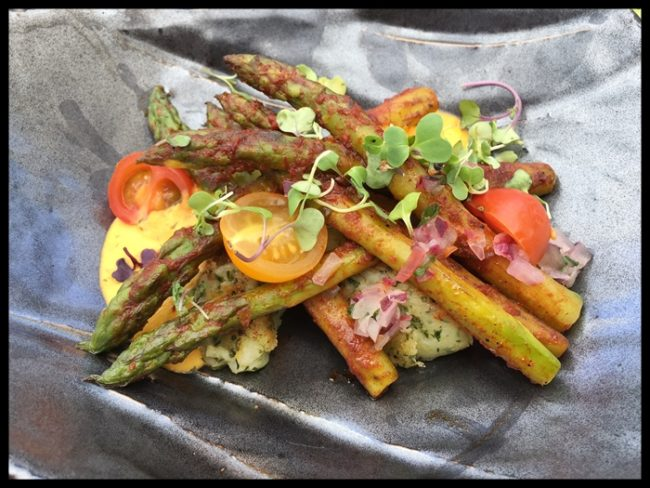 Verduras con germinados