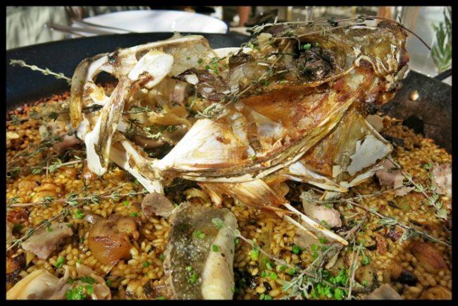 Arroz de pescado, un clásico con hiperrealismo añadido