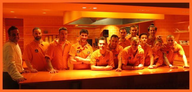 Iker Erauzkin y su equipo