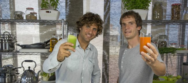 Edgar Barrionuevo y David Martín.
